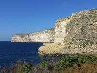 Steilküste bei Xlendi