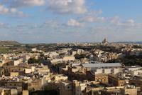 Ausblick von der Zitadelle in Rabat (Victoria)