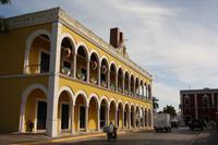 143 beim Stadtrundgang durch Campeche
