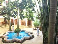 184 Innenhof unseres Hotels Mayaland