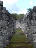 Straße der 1000 Säulen Chichén Itzá