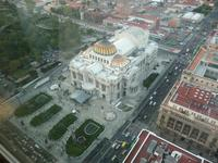 Blick über Mexiko Stadt vom Turm Lateinamerikas