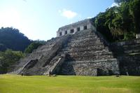Mexikanische Ruinenanlage