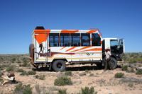 Fahrt in die Namib
