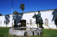 Südwester Reiter in der Alten Feste - Windhoek
