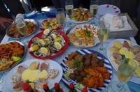 Walvis Bay - Lagunenfahrt - Bitte zu Tisch