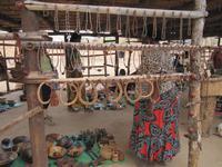 Kleiner Markt am Epupa-Wasserfall