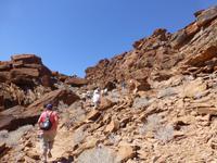 Wanderung bei Twyfelfontein