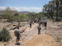 An den Epupa-WasserfÀllen