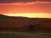 Sonnenuntergang Namib Desert Lodge
