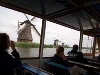 Bootsfahrt in Kinderdijk