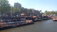 Amsterdam, Grachtenrundfahrt bei Sonne