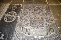 070 Amsterdam, Grabplatten in der Alten Kirche (Oude Kerk)