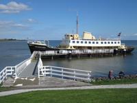 Mit dem Schiff zum Museum in Enkhuisen