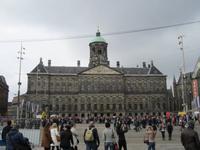 Amsterdam-Dam-Königliche Palast