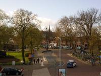 Blick vom Bahnhof Hoorn zur Altstadt