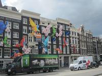 Amsterdam,warten auf den Bus