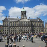 Amsterdam-auf dem Damm-Königliche Palast