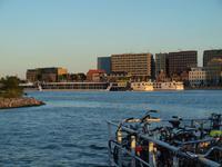 Amsterdam in der Abendsonne