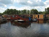 Mit dem Schiff nach Aalsmeer - Hausboote kurz vor Aalsmeer