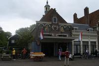 Alte Käse-Waage in Edam