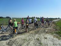 Radtour Hoorn nach Enkhuizen, Polderlandschaft