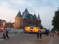 Stadtrundgang in Amsterdam – Altes Waaggebäude