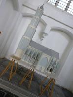 Brielle, Katharinenkirche, Modell