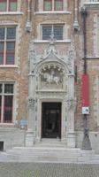 Eingangstor am Gruuthuse-Palast
