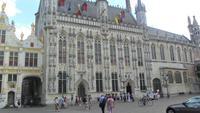 gotisches Rathaus Brügge