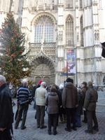 Auf dem Marktplatz in Antwerpen