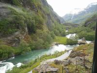 Fahrt mit der Flåmbahn von Flåm nach Myrdal