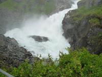 Fahrt mit der Flåmbahn von Flåm nach Myrdal (Kjosfossen)