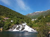 Hellesylt - Wasserfall