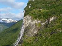 183 Geirangerfjord - Anfahrt auf Geiranger 2