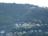 217 Bergen - Blick auf den Fløyen