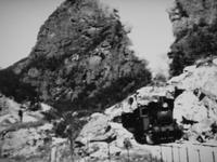 Flåmsbahn – historische Aufnahme