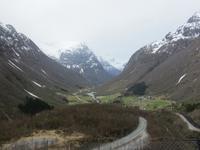 Ausblick in das Tal von Geiranger