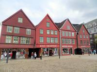 Das Bryggen-Viertel in Bergen