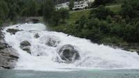 Ausflug Geiranger - Hellesylt- Wasserfall in Hellesylt