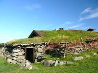 alter Bauerhof der Eisenzeit