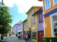 farbenfrohe Altstadt von Stavanger