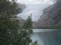 Am Svartisen Gletscher