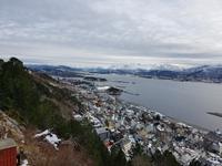 Hurtigrute, Alesund, Blick vom Akslaberg
