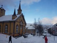 Hurtigrute, Tromsö, Kath. Kirche
