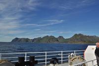 Mit der Fähre vpn Moskenes nach Bodø