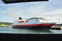 Ankunft mit der Fähre in Bodø - MS Nordnorge - Hurtigruten