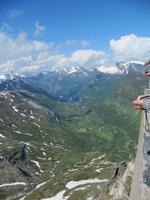 Blick vom Danslibba auf den Geirangerfjord