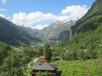 Blick zum Geirangerfjord
