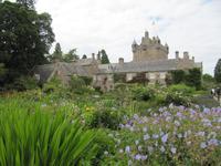 Garten in Cawdor Castle